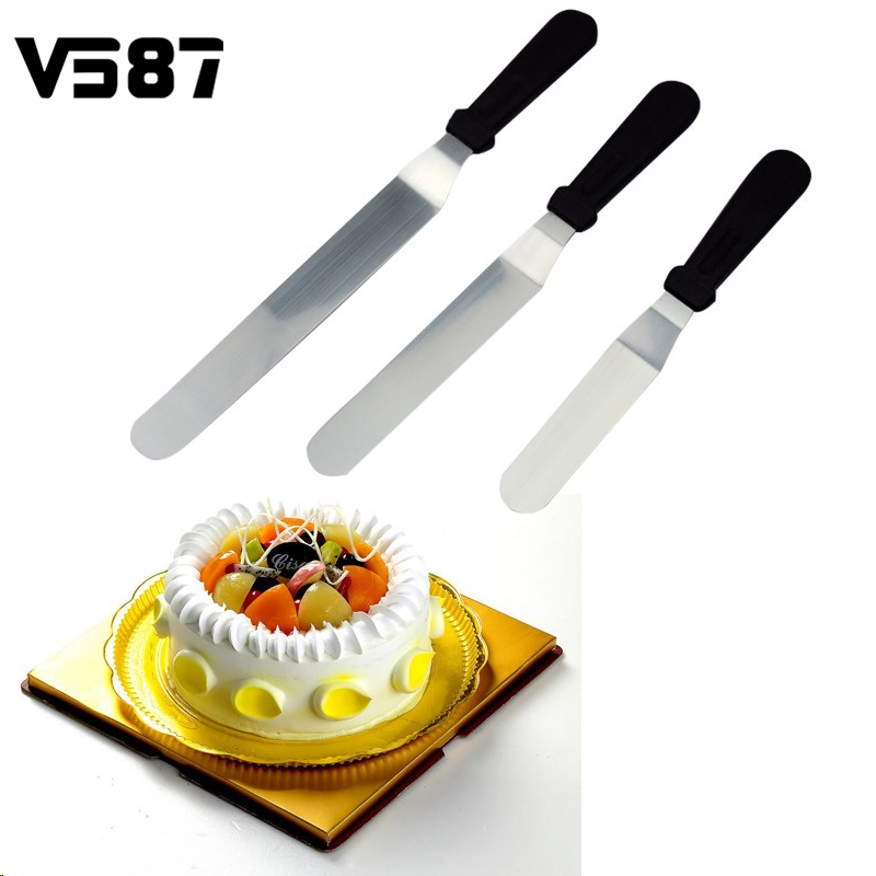 6 8 10inch Angled Spatula Professional Cake Decorating