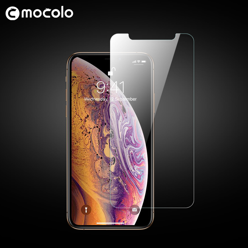 Mocolo Original Premium Anti-explosion Glass for iPhone XS MAX 0.33mm 9H Screen Protector Tempered Glass Film for iPhone XS XR