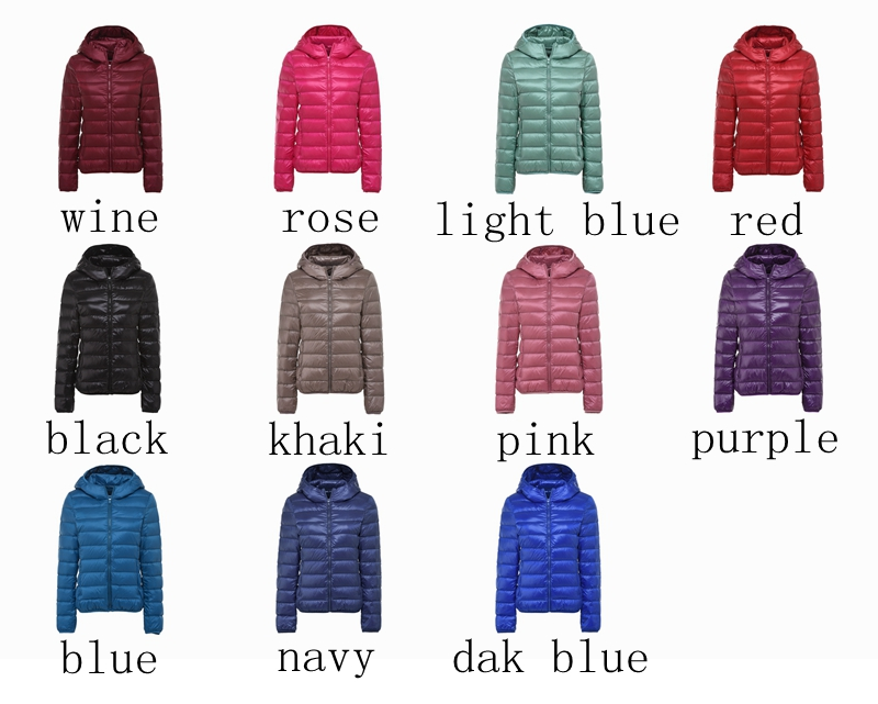 Image 4 - NewBang 8XL 9XL Plus Size Ultra Light Down Jacket Women Autumn  Winter Warm Coat White Duck Jackets Female Hooded ParkaDown Coats   -