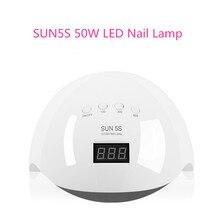 Nail Art Tool SUN5s Nail Fast Dryer UV LED Lamp Nail Lamp Dual Light Manicure Machine With 30pcs LED Beads For Nail Gel Polish цена и фото