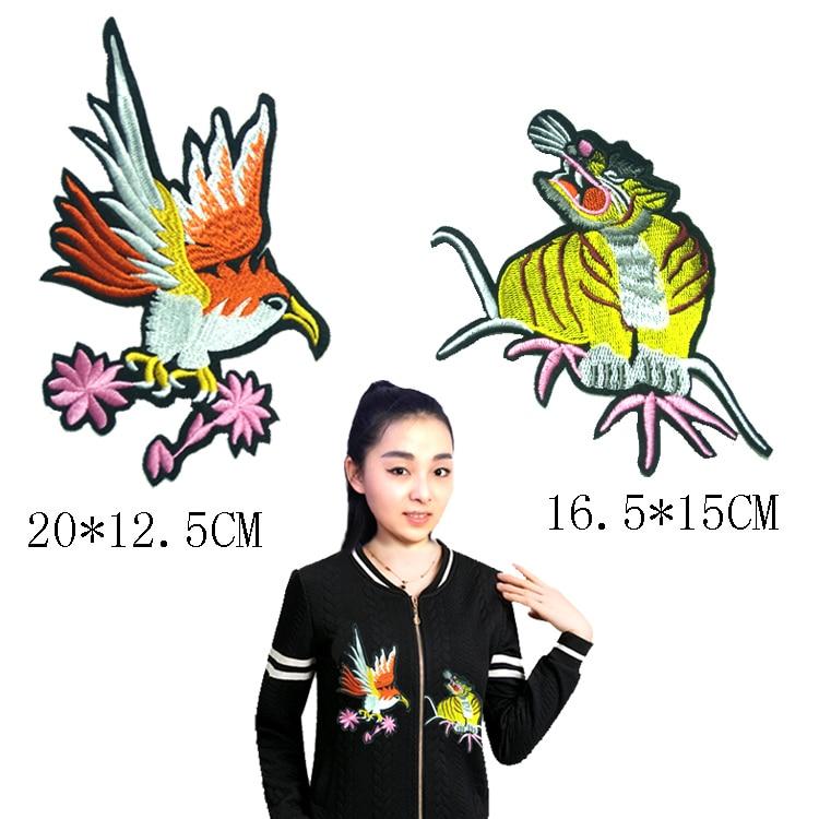 8ad1877a05 2 peças Lace Bordados Remendo Applique Tridimensional T-shirt Roupas Vestido  de Tecido de Renda DIY Acessórios YN322