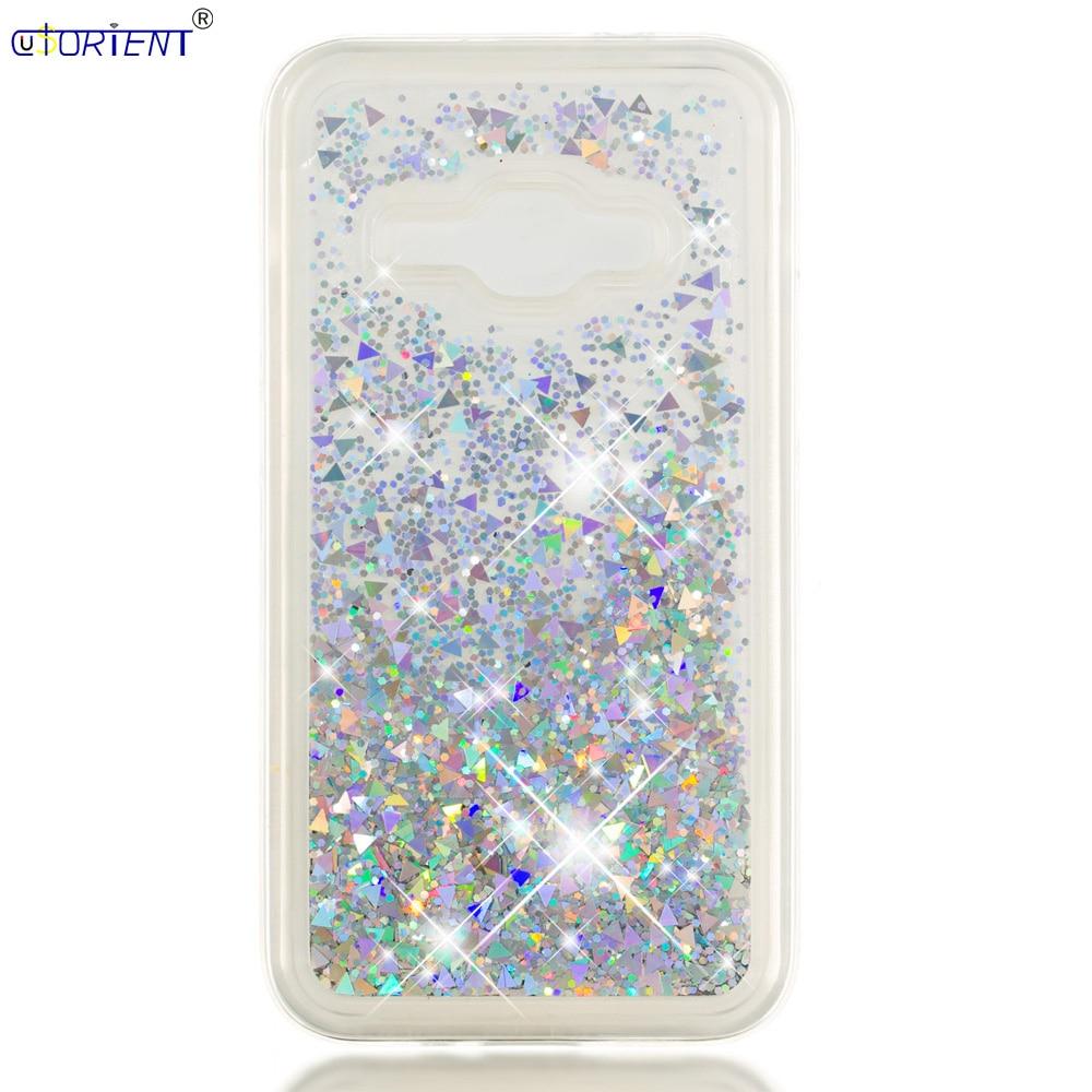 Half-wrapped Case Ingenious Funda For Samsung Galaxy J1 2016 J120 J16 Dynamic Liquid Quicksand Case Sm J120f J120f/ds J120m J120h Soft Silicone Bumper Cover