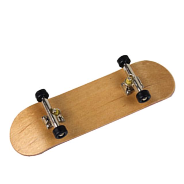 Maple Wood Finger Skateboard