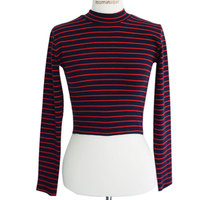 2016 Korean Style Short T Shirt Women Turtleneck Women Tops Fashion Harajuku Crop Top Long Sleeved