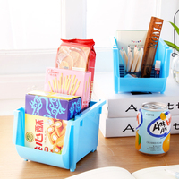 Mini Storage Box Desktop Debris Admission Underwear Organizer Kitchen Accessories Food Container Colorful Case Superimposed