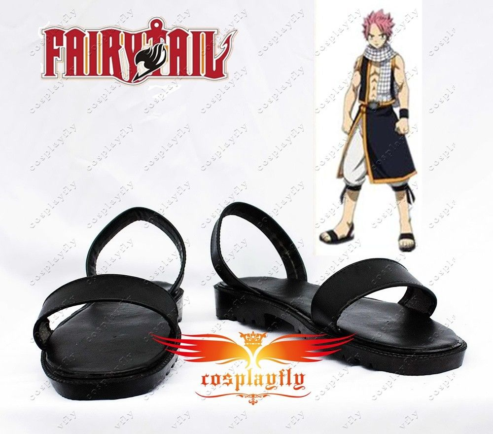 Fairy Tail Natsu Dragneel Cosplay Boots Shoes For Costume Custom Made Adult Halloween Carnival Christmas For Costume