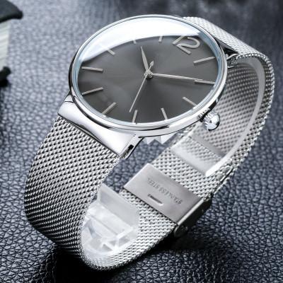 Relogio feminino Moda Casual Relógios Ultra-Fino Relógio de Quartzo do Aço Inoxidável Das Mulheres Dos Homens Casal Senhoras Relógio Erkek Kol Saat