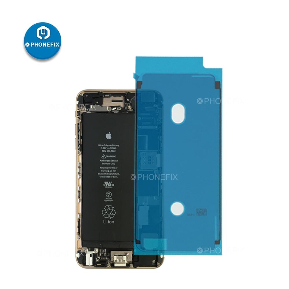 PHONEFIX 2Pcs/lot 3M Waterproof Sticker Glue Tape Frame Bezel Seal Sticker Tape For IPhone 6S 6SP 7 7 Plus 8 8P X MAX XR Repair