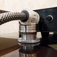 Lp 비닐 레코드 조정 가능한 hifi 오디오 스피커 전원 케이블 패드 충격 방지 충격 흡수 패드 진동 흡수 스탠드