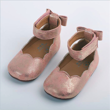 Girls shoes PU leather silver pink soft toddler shoes spring summer autumn  little kids princess 0cd2a21a74a6
