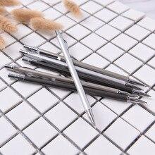 1 шт. механический карандаш 0,5/0,7 мм карандаш металлический стержень автоматическая ручка Карандаш свинец заправка студенческие канцелярские принадлежности оптом lapiseira карандаш