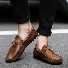 NORTHMARCH Casual Leather Loafer Shoes Men Soft Comfortable
