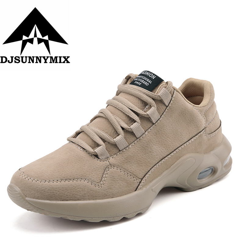DJSUNNYMIX Brand Outdoor Mens Running Shoes Cheap Lightweight Sport Sneakers for Male Lace Up Athletic Shoes