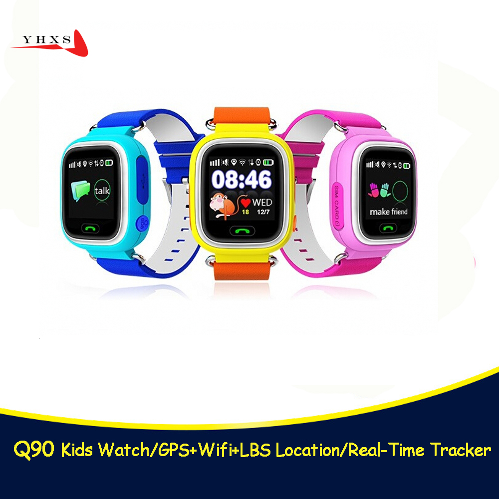 Smart Q90 GPS LBS Location Finder Tracker Watch for Baby Kid Elder Anti-Lost Alarm SOS Monitor Electronics Smartwatch PK T58