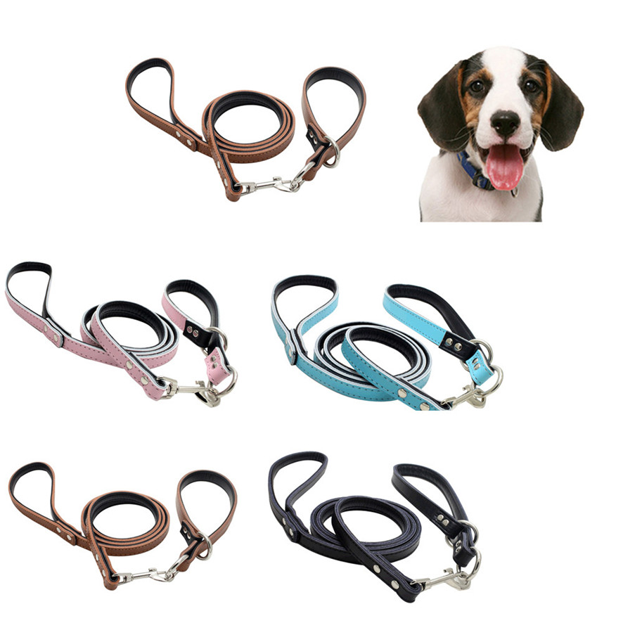 Zero 2017 Pet Puppy Adjustable Metal Accessories Lead Leash Traction Rope Hot sale Purchasing B7719