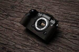 Image 4 - Fuji X H1 XH1 caméra Mr. Stone fait à la main en cuir véritable caméra étui vidéo demi sac caméra body