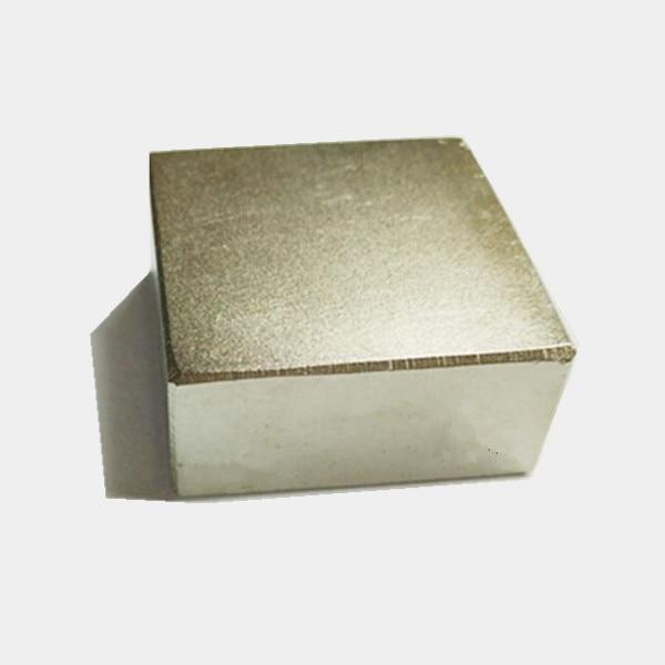 Freies Verschiffen 1 STÜCKE block 40x40x20mm Super Leistungsstarke Starke Seltene Erde-block NdFeB Magnet Neodym magneten 40x40x20 40*40*20