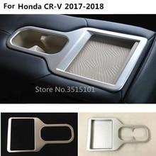 Ящик для хранения автомобилей крышка украшения внутри отделка внутренняя спереди отделка лампы панель Кубок хранения 1 шт. для Honda CRV CR-V 2017 2018