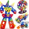 Magnetic Designer Construction Set Model Building Kits Toy Plastic Magnetic Blocks Sets Educational Toys For Children