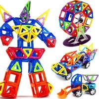 Magnetic Designer Construction Set Model Building Kits Toy Plastic Magnetic Blocks Sets Educational Toys For Children Kids Gifts