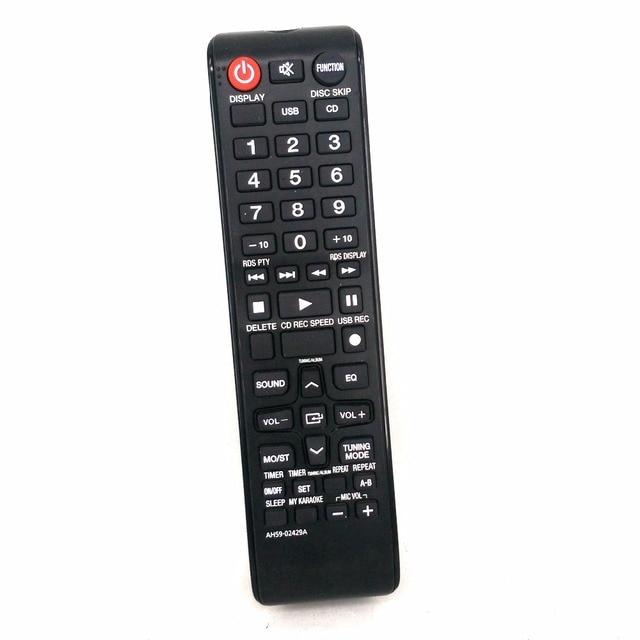 Original Remote Control AH59 02429A For Samsung BookShelf Hi Fi TV MX E630CB