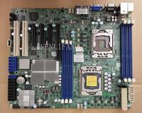 Well Tested Working X8DTL 3F LGA 1366 DDR3 SATA2 Support X5650 X5670 for ATX VGA X58 Motherboard