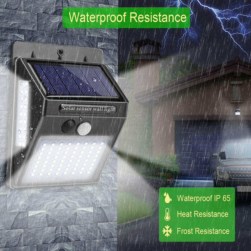 lowest price 120COB LED Solar Wall Light PIR Motion Sensor Outdoor Waterproof Garden Solar Power Lights For Street Path Outdoor Wall Lamp