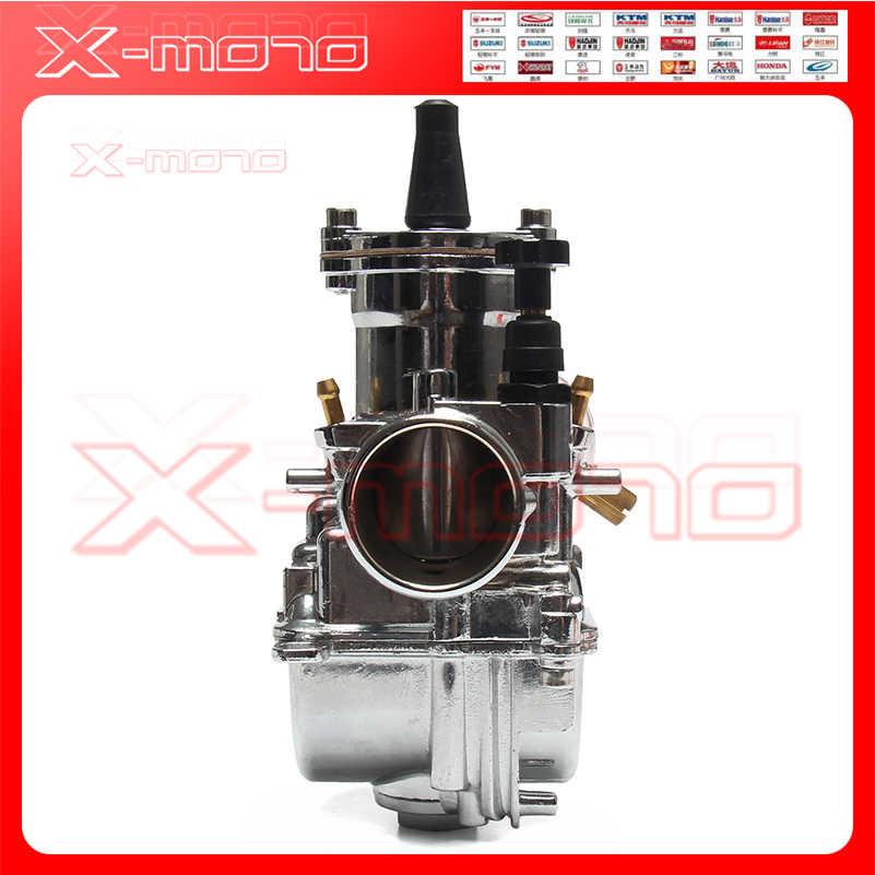 Pwk 30 Karburator Perak 28 Mm 30 Mm 32 Mm 34 Mm Aksesoris Motor Karburator Baru Pwk Koso Karburator dengan Kekuatan Jet