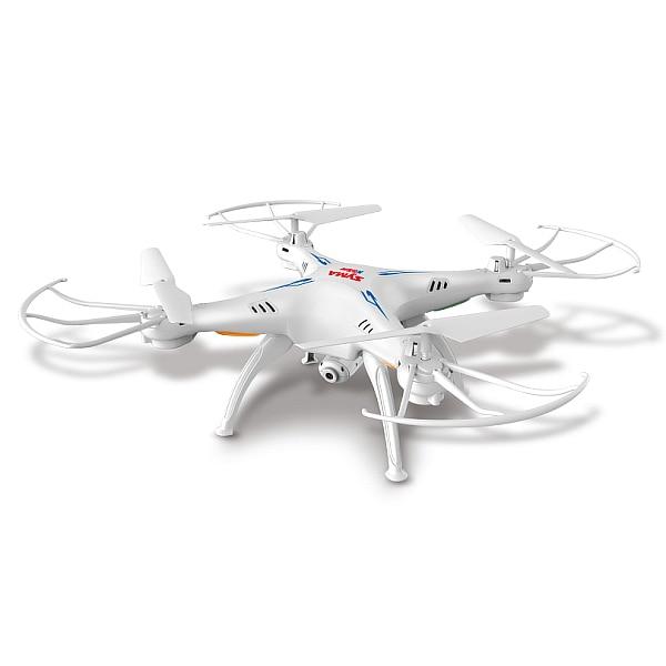 Syma X5SW X5W X5SW 1 2.4 GHz 4CH Axis Gyro WiFi in Tempo Reale Video RC Quadcopter UFO FPV Videocamera HD con Modalità Headless RTF - 5