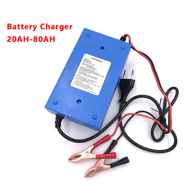 12 Volt 6 AMP Auto Motorcycle Battery Charger Car AGM GEL VRLA Lead Acid Batteries Power Charging 12V 6A Automotive Charge Tool|Battery Charging Units|   -