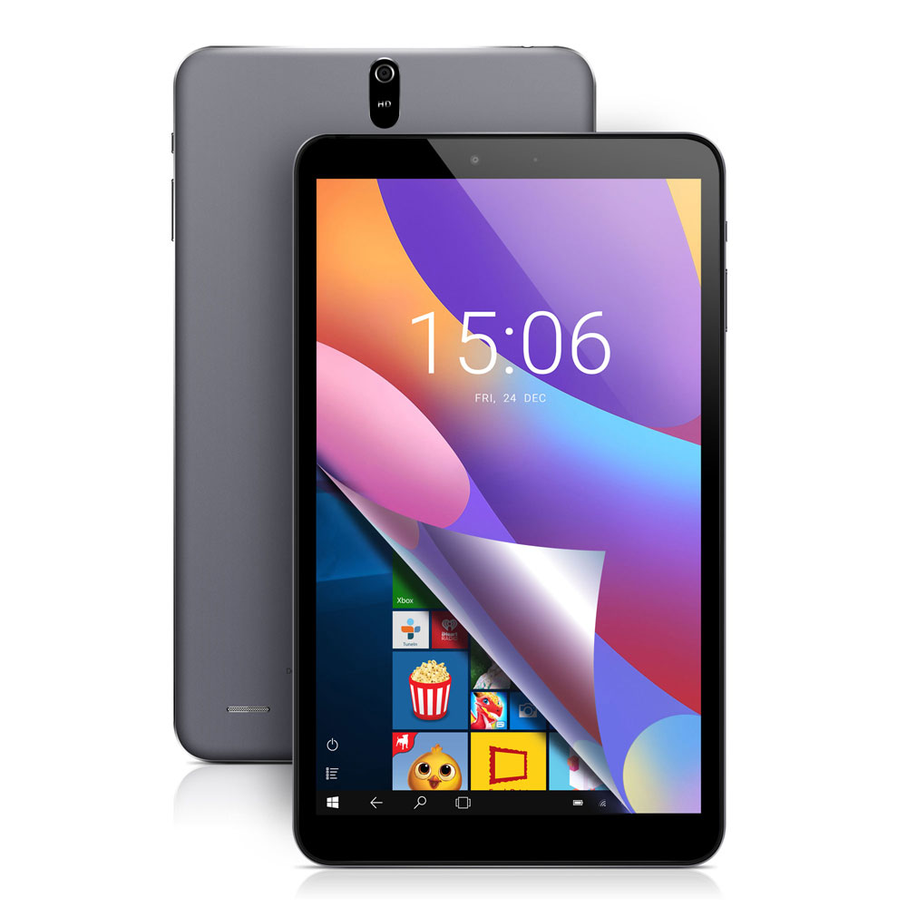 Newest!Chuwi Hi 8 Air Tablet PC 8.0 inch Windows 10 Android 5.1 Dual OS Intel Cherry Trail x5-Z8350 Quad Core 2GB RAM 32GB ROM
