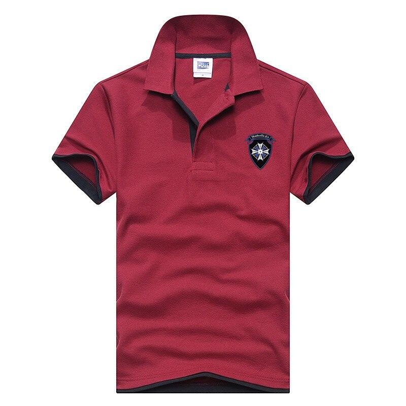 High Quality 13 Colors Cotton Turn Down Collar autumn Men   Polo   Shirt Cotton Short Sleeve Shirt Fashion Casual   Polo   Shirt plus