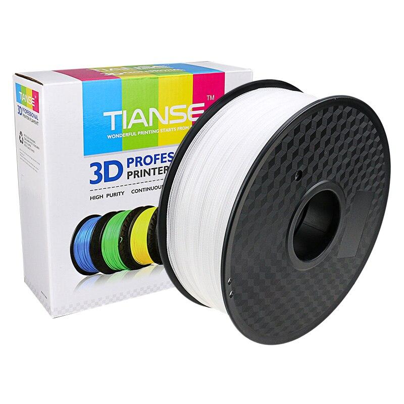 3D Filament 1.75mm 400M long Transparent PETG printing consumables material for 3D printer 3D pen ABS Plastic PLA PVA Filament