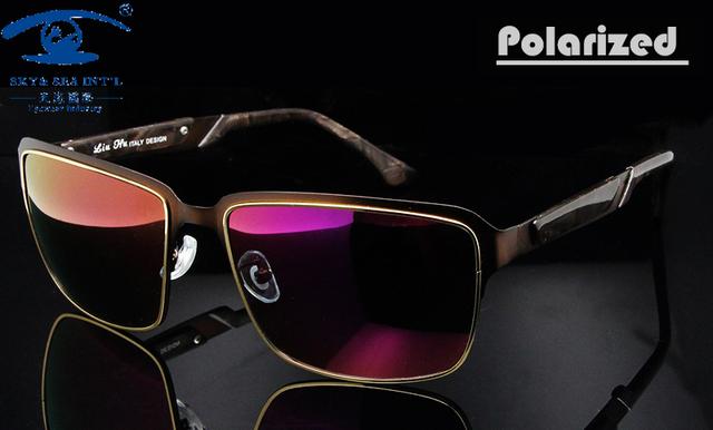 Novo ao ar livre luneta de soleil femme homens revestimento óculos polarizados condução sol de alta qualidade pontos homens