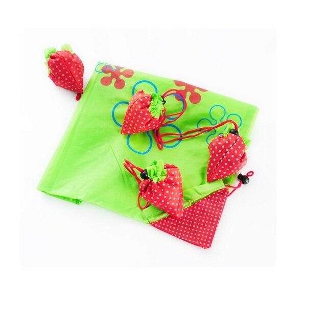 9f072dd4ab9 shopping bag strawberry folding shopping bag eco-friendly bag Foldable  Strawberry Shopping Bag 200pcs dhl fedex free dropping