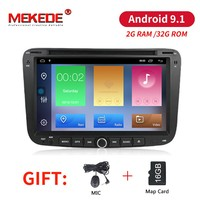 MEKEDE Android 9,1 2G ram 32G rom автомобильный dvd аудио радио плеер для GEELY Emgrand EC7 с wifi BT GPS навигация 3g