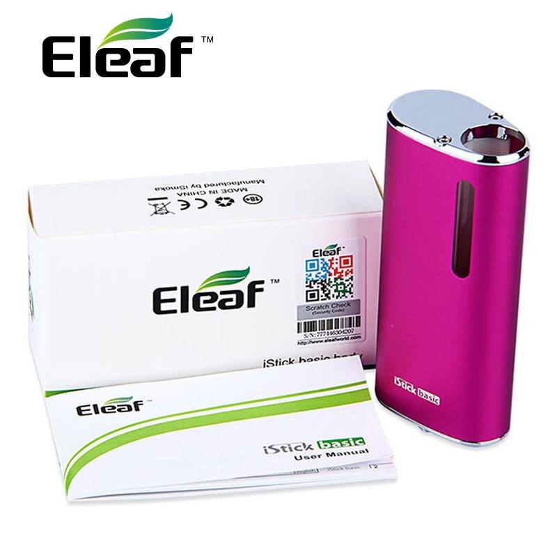 bilder für Original eleaf istick grundlegende batterie kapazität 2300 mah kompatibel mit ego und 510 gewinde zerstäuber von 14mm durchmesser/max 30 watt