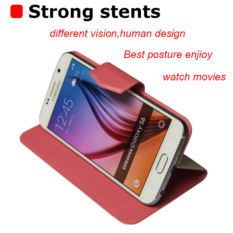 5 Colors Hot! DNS S5001 Case New Fashion Business Magnetic clasp Ultrathin Flip Leather Case For DNS S5001 Cover