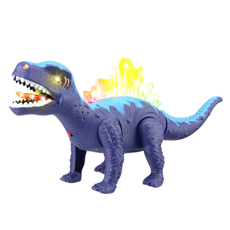 Hot Jurassic Park Simulation Electric Dinosaur Toy Model 0693 39.6cm Electric Walking Dragon Dinosaur Lighting Simulation Sound