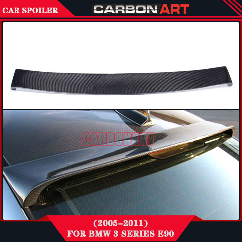 Auto Parts Bodykits HM Style Carbon Spoiler On Car For Bmw