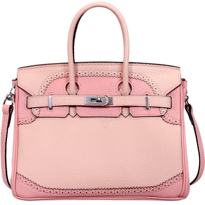 LOEIL Leather Platinum Bag Litchi Colorblock Lace Tribal Leather Shoulder Messenger Bag colorblock lace up tee
