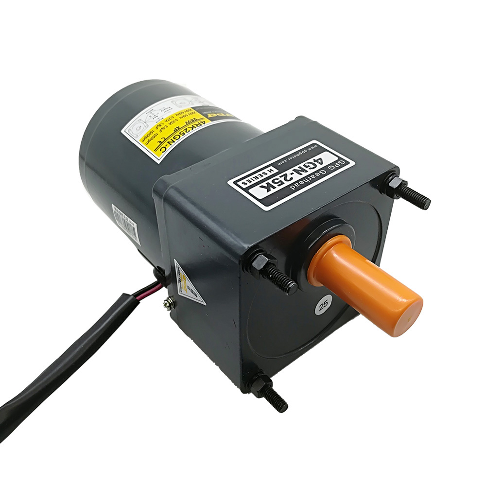 4IK25GN-A Single phase 110V induction motor bevel gear shaft torque 25W force motor 3 to 500rpm output speed motor with gear box4IK25GN-A Single phase 110V induction motor bevel gear shaft torque 25W force motor 3 to 500rpm output speed motor with gear box