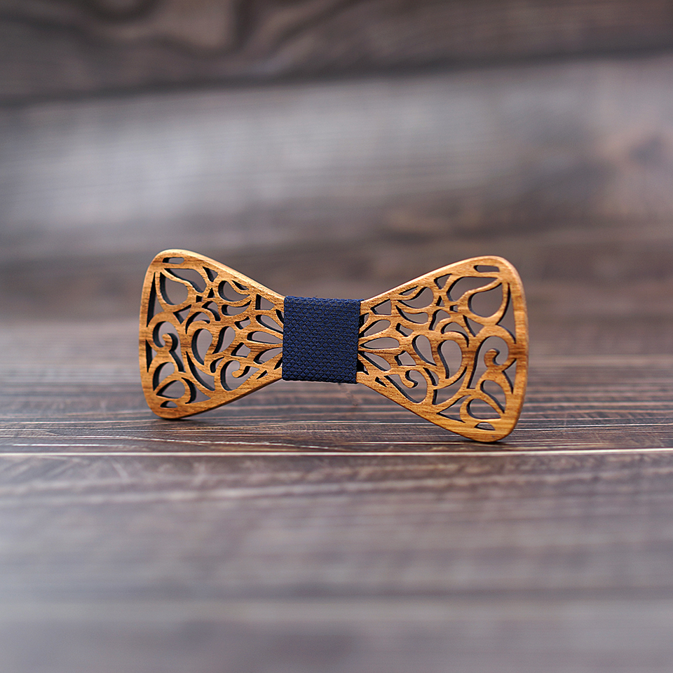 M1 (3)  Mahoosive New Floral Wooden Bow Ties for Males Bowtie Hole Butterflies Marriage ceremony go well with picket bowtie Shirt krawatte Bowknots Slim tie HTB1gihHAoR1BeNjy0Fmq6z0wVXa9