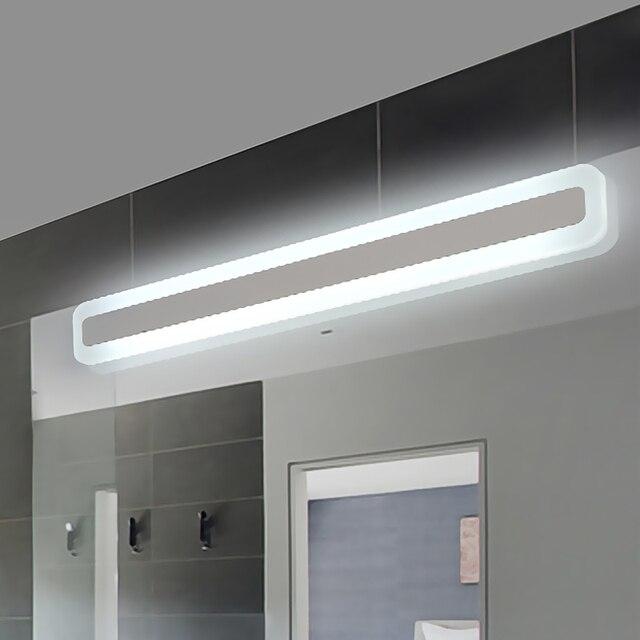 Nouveau Moderne Led Miroir Lumière Acrylique AC85 265V Moderne Applique  Salle De Bain Lampe 40