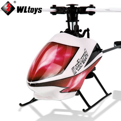 Wltoys 6CH V966 drone 3D Outdoor Flybarless RC Helicopter Single Blade Gyro LCD 6-axis Power Star X1 Quadcopter