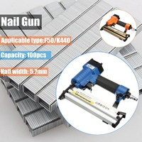Portable 2 in 1 F50/K440 Electric Staple Air Nailer Gun Straight Finishing Nail Gun Woodworking Tool
