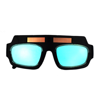 Solar Panel Welding Goggles With Telescopic Temple And Variable Light LCD Lens For Welding