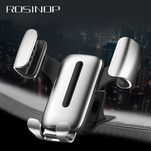 Rosinop Auto Clamping Car Phone Holder 4-6  telefon tutucu Stand Support Telephone For samsung iphone holder
