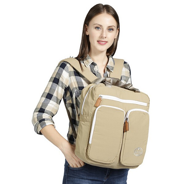 2018 Diapers bag mummy Brand Cotton diaper bags for Mom Backpack Fashion Bag Large Capac ...