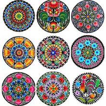 5D Diy Full Square Diamond Painting Cross Stitch Diamond Embroidery Mandala Pictures Of Crystal Diamond Mosaic decor ST1126